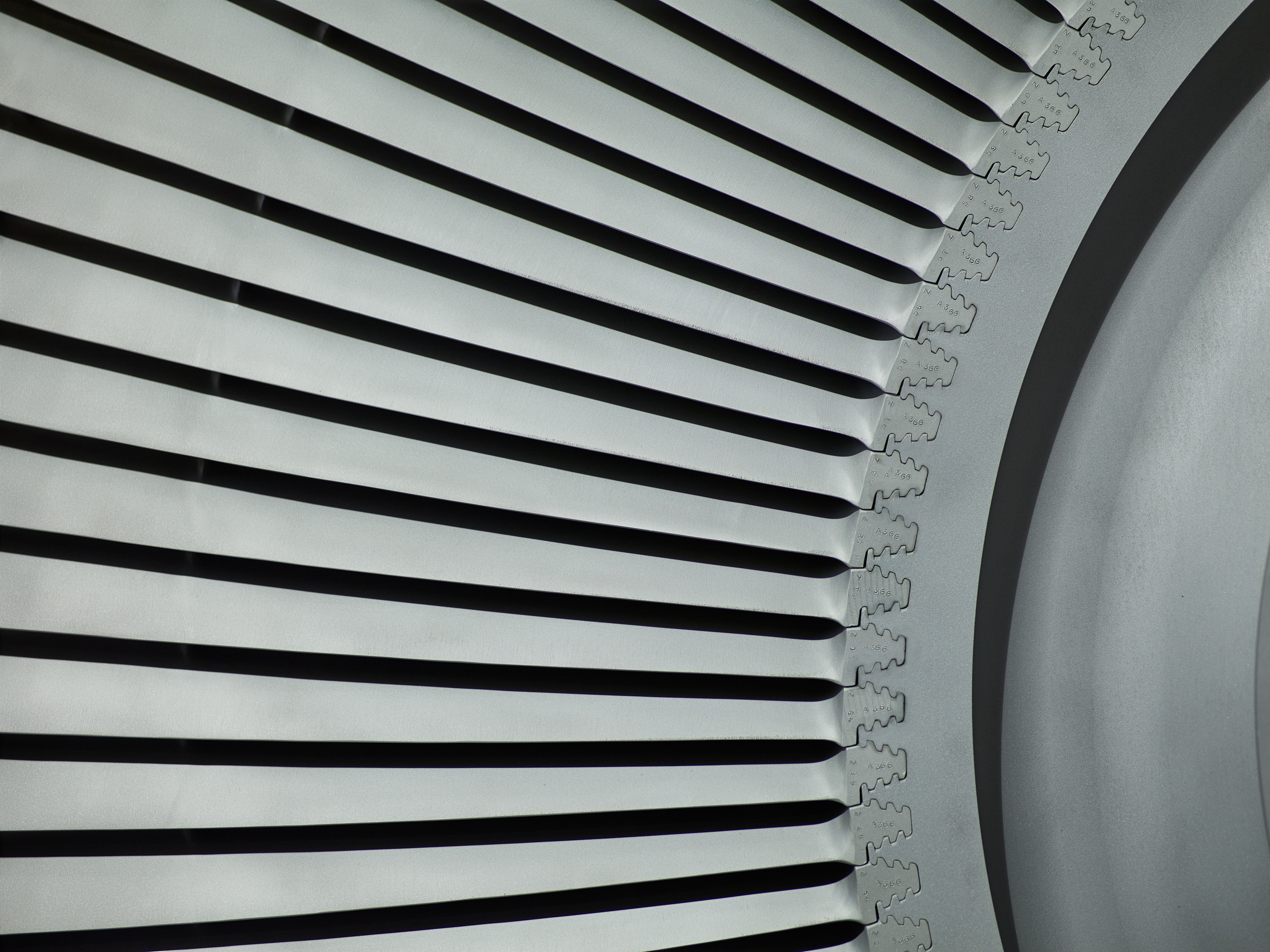Turbine Macro | Industrial Photography