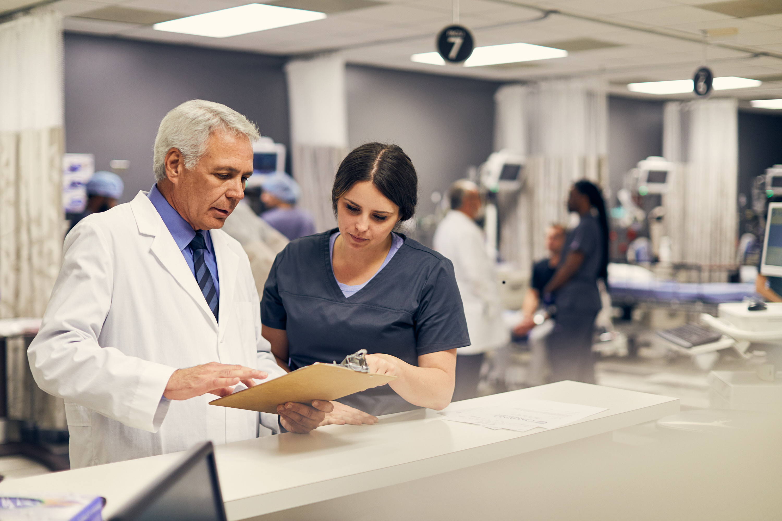 Doctor and Nurse | Healthcare Photography