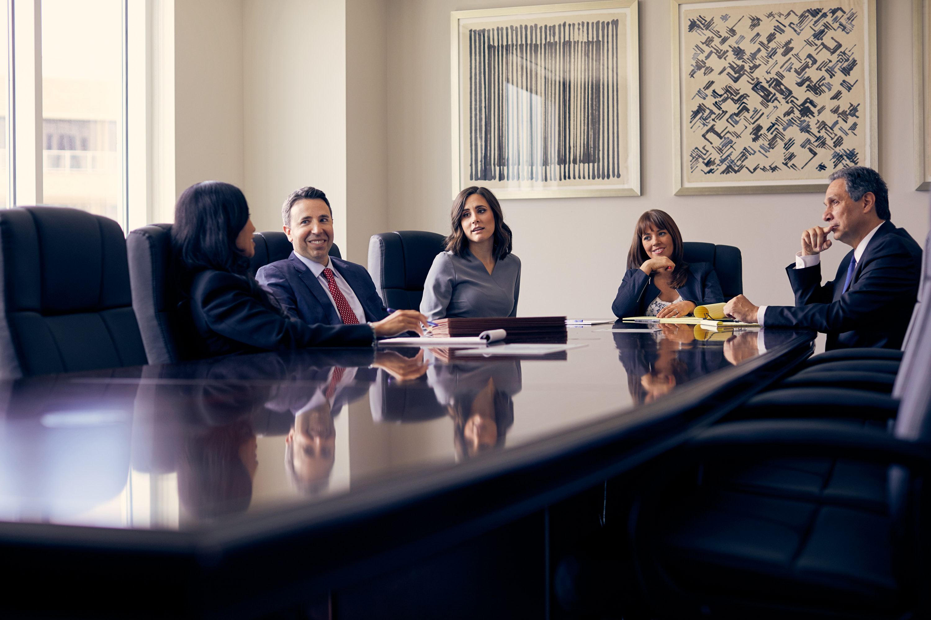 Corporate Photography | Professionals at Conference Table