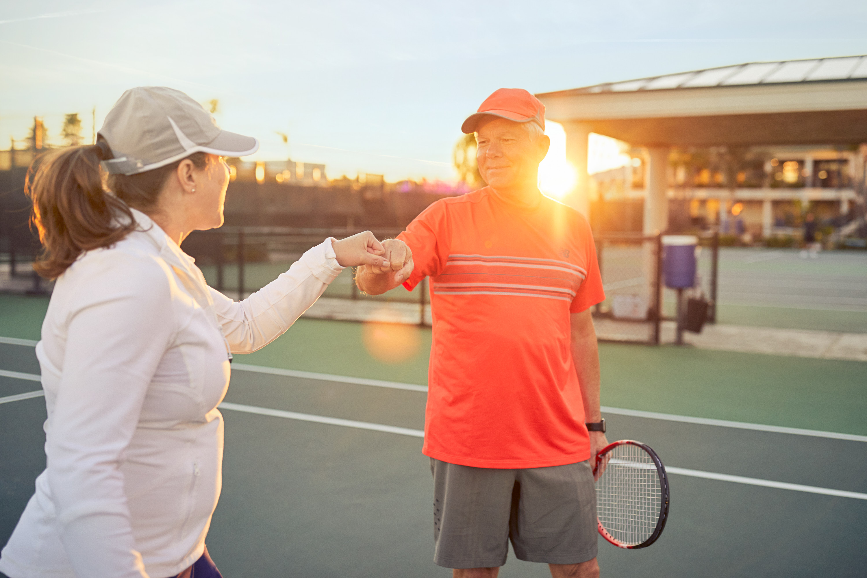 Senior Fitness | Healthcare Photography