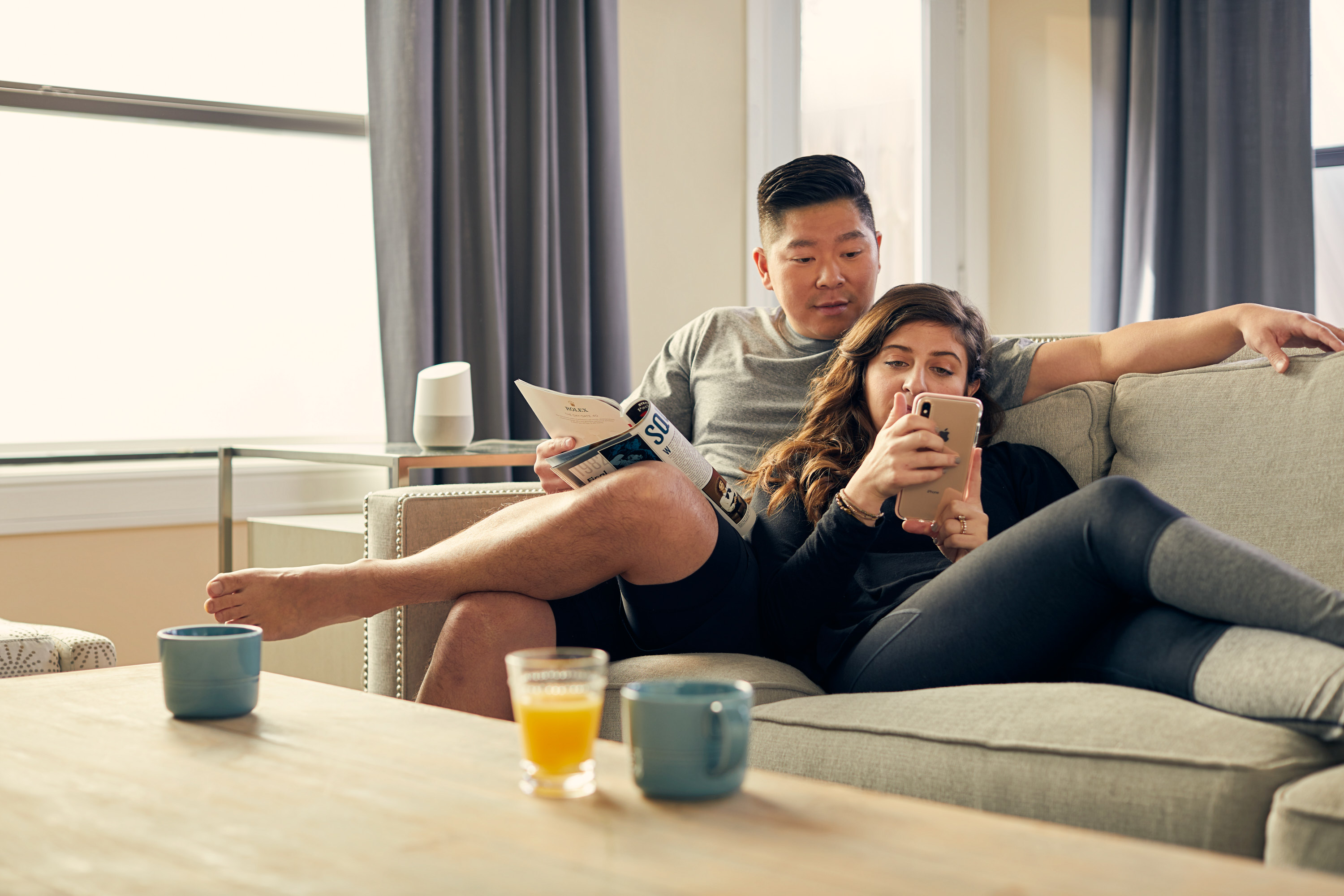 Couple Lounging | Lifestyle Photography