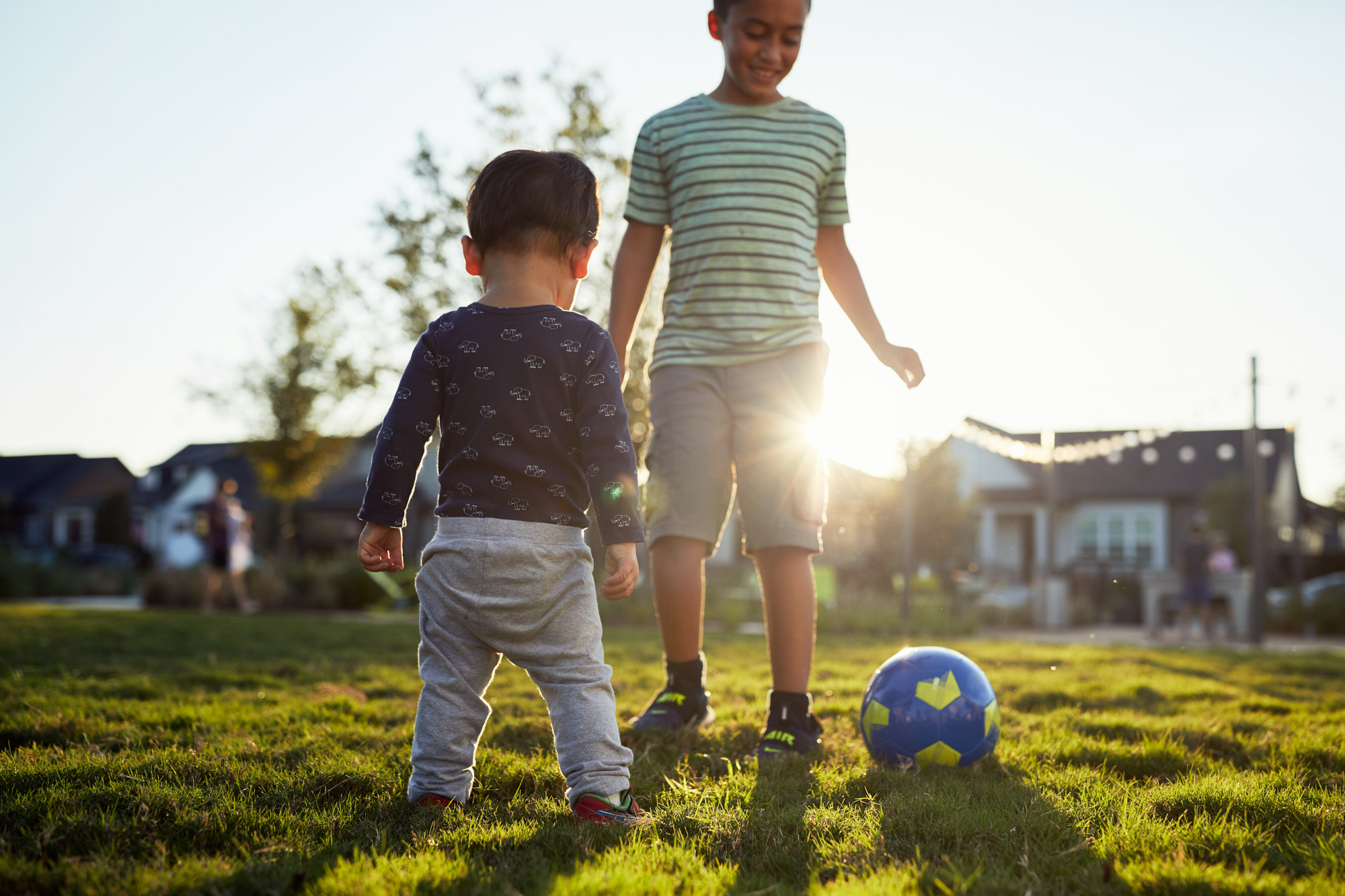 Brothers Play Soccer| Lifestyle Photography