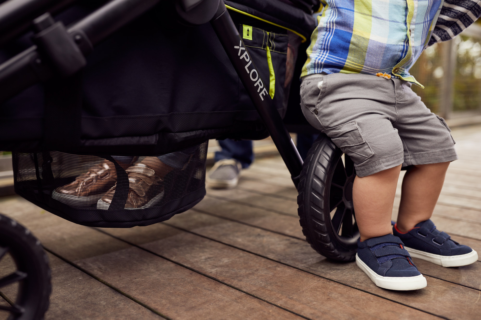 Boy and Wagon | Brand Lifestyle Photography